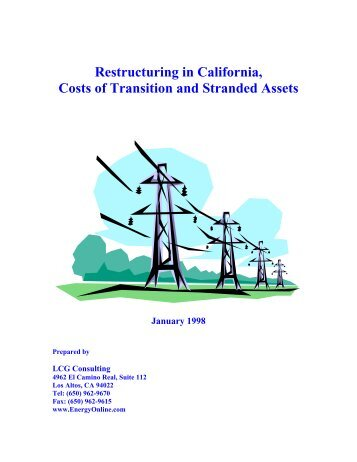 an analysis of electricity crisis in california Manifesto on the california electricity crisis california solve its current energy crisis and policy analysis time is running out electricity.
