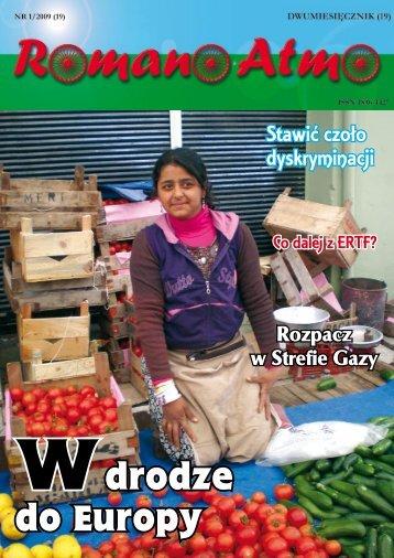 Spis treści numeru 1/2009 - Związek Romów Polskich w Szczecinku