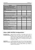 Teklynx > LABEL MATRIX - Page 6