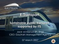 ETransport ETransport - ITS South Africa
