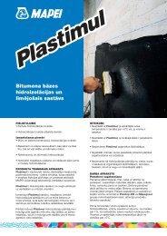 Bitumena bāzes hidroizolācijas un līmējošais sastāvs - Mapei