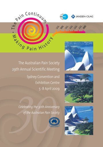The Australian Pain Society 29th Annual Scientific Meeting