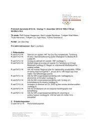 Styreprotokoll 11. desember 2012