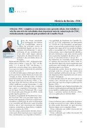 História da Revista «TOC» - Ordem dos Técnicos Oficiais de Contas