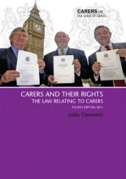 Carers and Their Rights - Wrexham County Borough Council