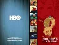 CHILDREN'S - New York International Children's Film Festival