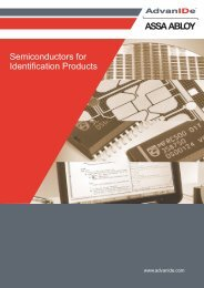 Semiconductors for Identification Products - AdvanIDe