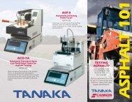 Additional instruments for asphalt testing. - Cannon Instrument ...