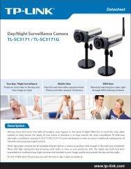 TL-SC3171 / TL-SC3171G Day/Night Surveillance Camera