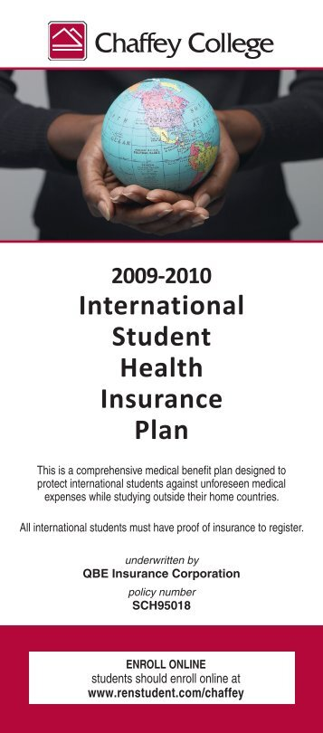 International Student Health Insurance Plan - ASCENSION Benefit ...