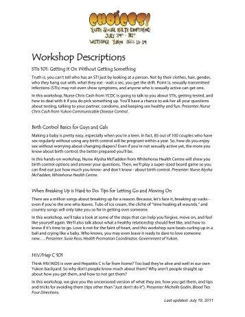 Presenter Session / workshop description