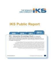 2012 IKS Public Report