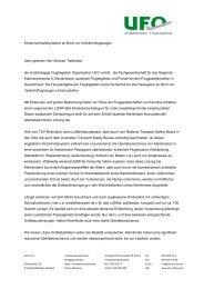 Ein offener Brief der Flugbegleiter - Babypartner.de
