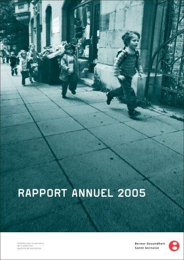 rapport annuel 2005 - Santé bernoise