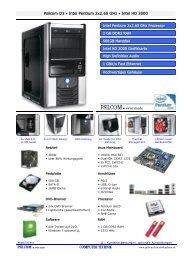 Psilcom O3 • Intel Pentium 2x2.60 GHz • Intel HD 2000 PSILCOM ...