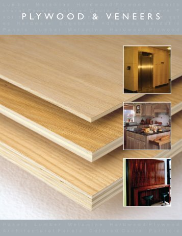 PLYWOOD & VENEERS - Hardwoodweb.com