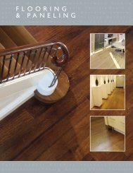 flooring & paneling - Hardwoodweb.com