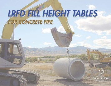 LRFD Fill Height Tables - Shaw Precast Solutions