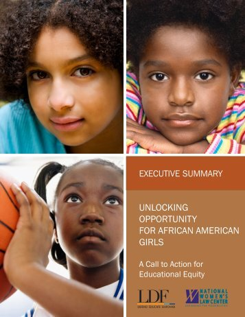 Unlocking Opportunity for African American Girls -Executive Summary_0