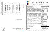 The Messenger - First Lutheran Church