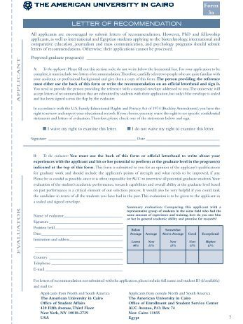 Writing an Effective Academic Recommendation Letter