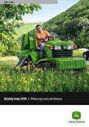 Modely řady X700 | Překonají vaše představy
