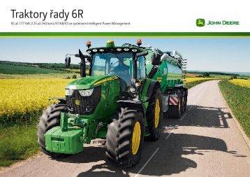 Traktory řady 6R