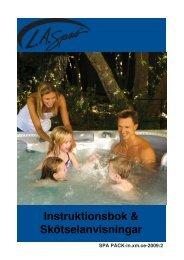 L.A. SPAS instruktionsbok 2009 - Neptun