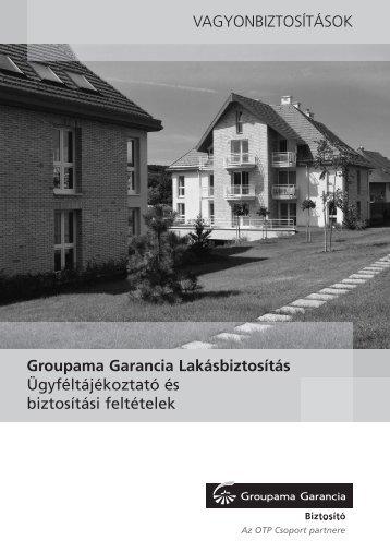 Groupama Garancia Lakásbiztosítás - Biztositasifeltetelek.hu
