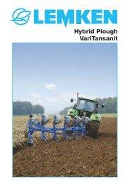 Hybrid Plough VariTansanit - Lemken