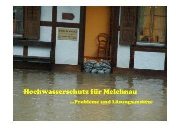 Hochwasserschutz für Melchnau - Gemeinde Melchnau