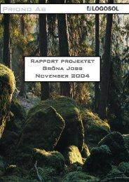 Rapport Gröna Jobb Nov 2004.pdf - fika.org!