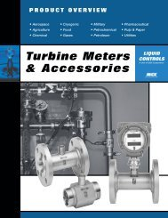 Turbine Meters and Accessories - Sps-inc.net