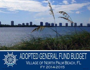 General Fund - Village of North Palm Beach