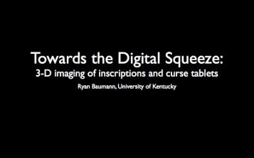 Presentation (PDF) - Digital Classicist