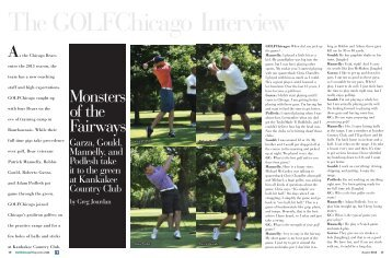 Monsters of the Fairways - Golf Chicago Magazine