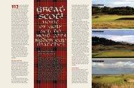 Scotland - Golf Chicago Magazine