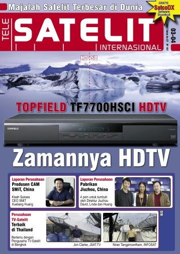 TOPFIELD TF7700HSCI HDTV - TELE-satellite International Magazine