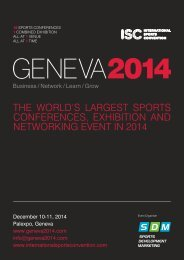 Download the Geneva 2014 brochure here - Sports Recruitment ...
