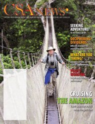 THE AMAZON - Canadian Snowbird Association