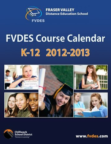FVDES Course Calendar - Fraser Valley Distance Education School