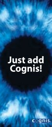 Just add Cognis! - Anshul Life Sciences