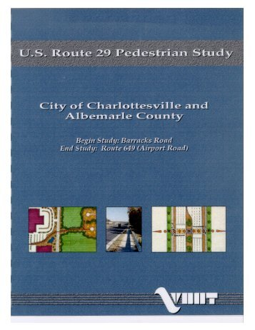 Route 29 Pedestrian Plan - Thomas Jefferson Planning District ...