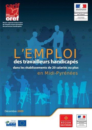 L'emploi des travailleurs handicapés - Carif Oref Midi-Pyrénée