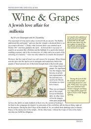 wine article june 21 - Halachic Adventures