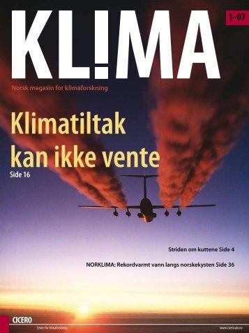Magasinet KLIMA 2007-2014