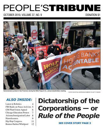 Rule of the People - People's Tribune