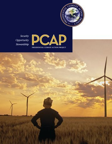 The 2008 Plan - Presidential Climate Action Project