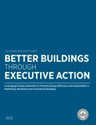 better buildings executive action - US Green Building Council