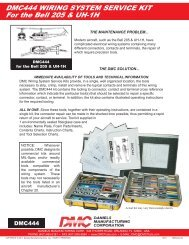 DMC444 WIRING SYSTEM SERVICE KIT For the Bell 205 & UH-1H